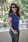 Archana photos in blue top-thumbnail-14