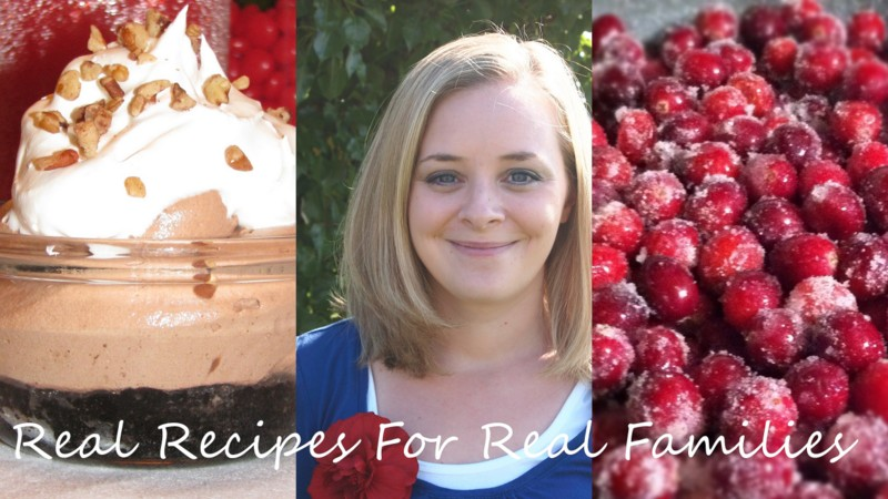 Real Recipes for Real Families