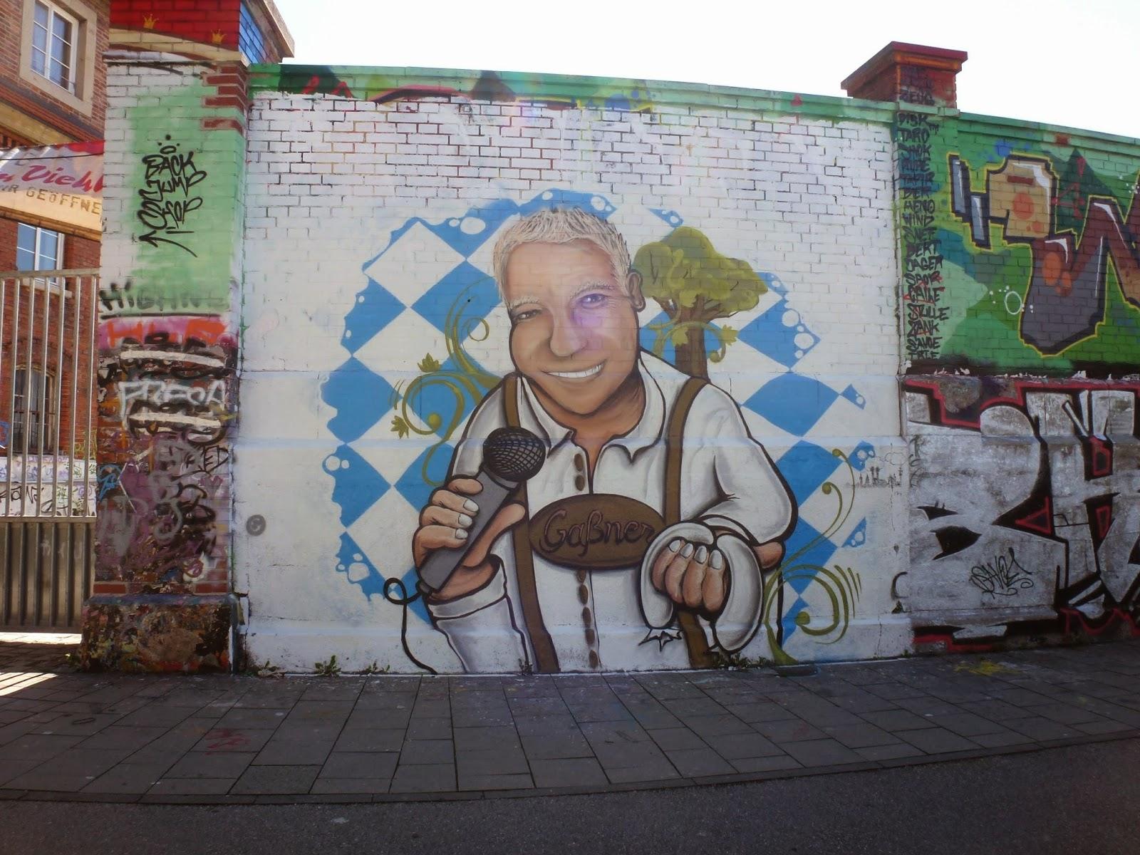 Graffiti, Streetart, Tumblingerstraße