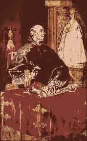 IMG ST. ILDEPHONSUS, Archbishop of Toledo