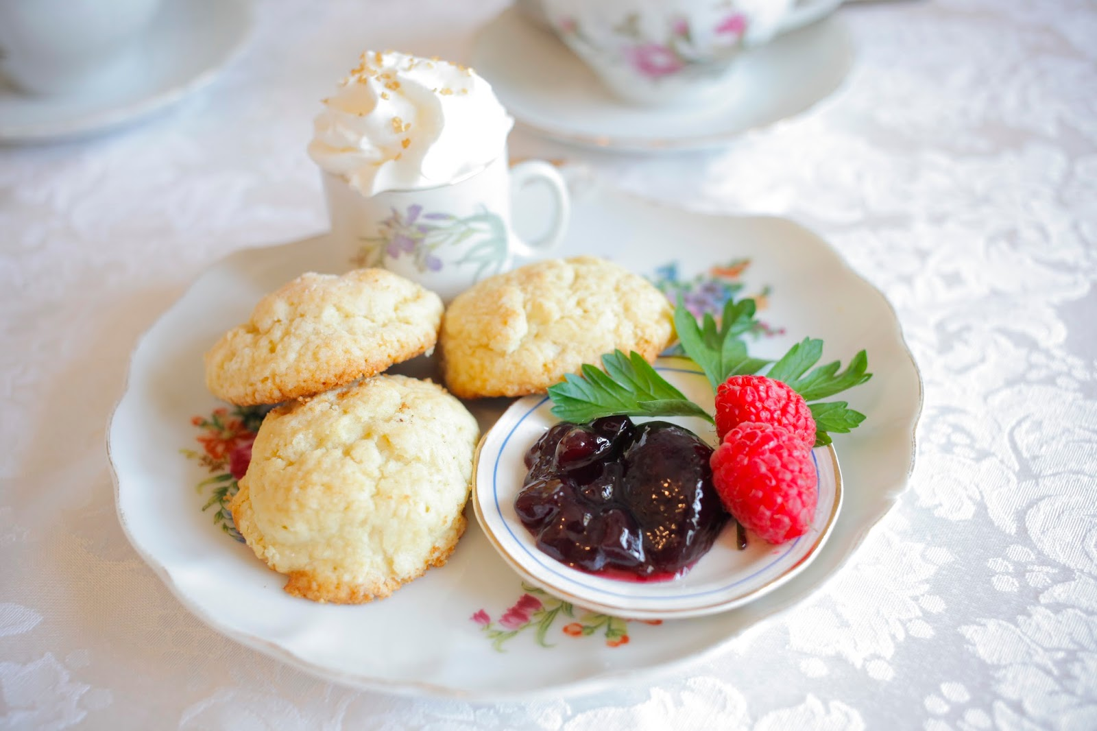 Scones from Ashes Boutique and Tea Garden