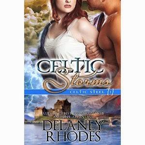 celtic storms, delaney rhodes, celtic fiction