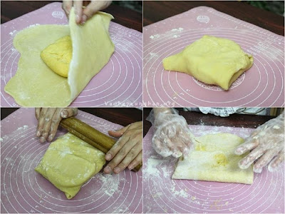 Cách làm bánh trứng KFC - Bánh Egg Tart 3