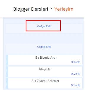Blogger Dersleri - Blogger Kategori Yaratmak