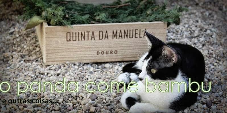 o panda come bambu