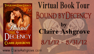 Bound By Decency Blog Tour with Claire Ashgrove
