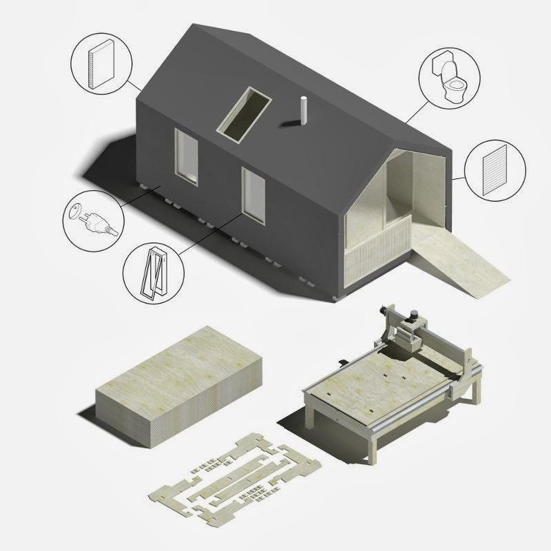 Izgradnja montažne kuće