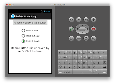 Android Custom Radio Button - Figure 3