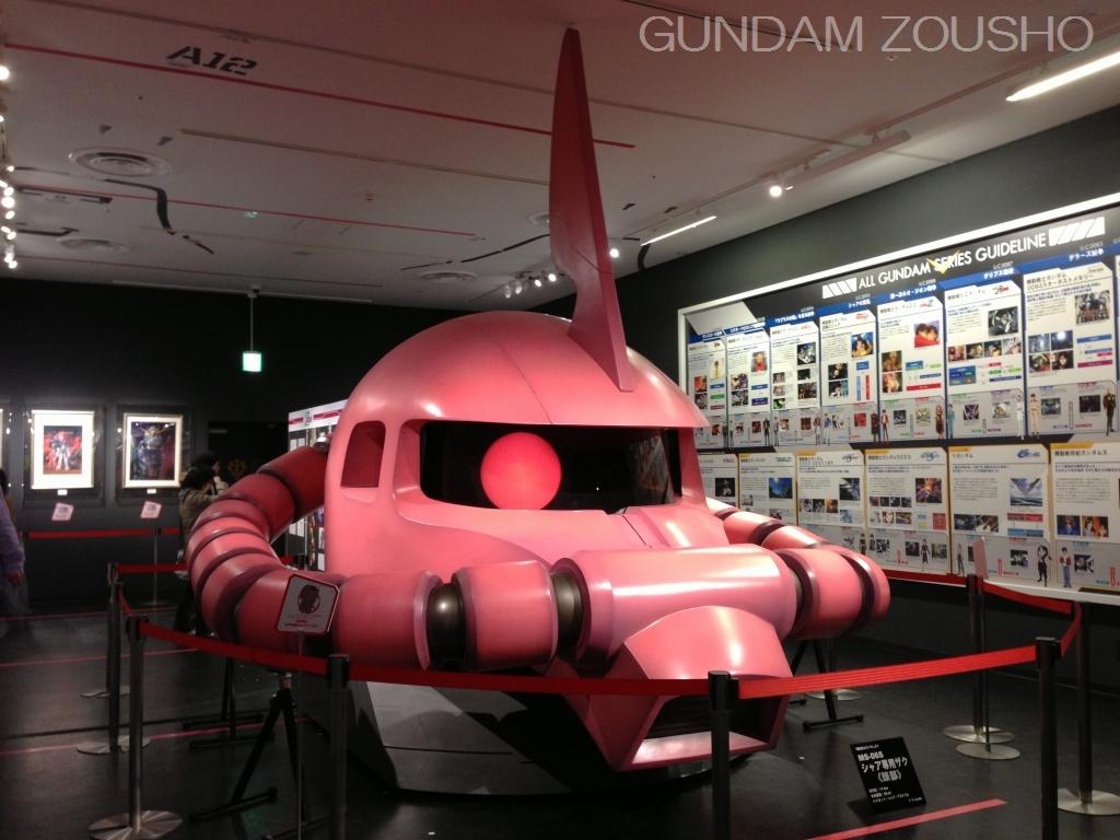 Char Aznable event at Gundam Front Tokyo (GFT) | Gundam Kits ...