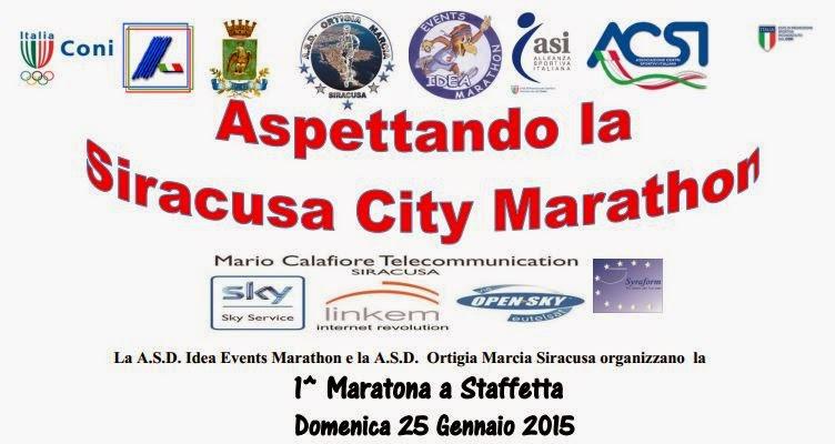 Aspettando la Siracusa City Marathon 2015