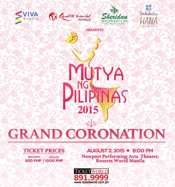 Mutya Ng Pilipinas 2015 Coronation Night Live