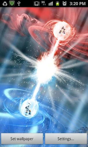 Copia de seguridad live wallpaper dragon ball goku vs vegeta kamehameha 1 0 apk - Goku kamehameha live wallpaper ...
