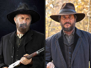 Kevin Costner as Mr. Hatfield & Bill Paxton as Mr. McCoy © 2012 Thinkfactory Media