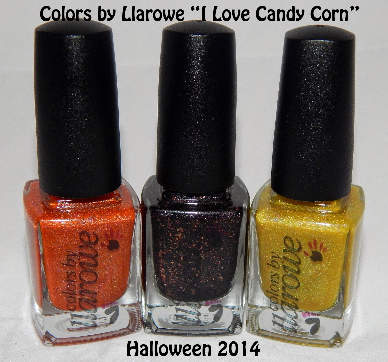 Colors by Llarowe Halloween Trio 2014