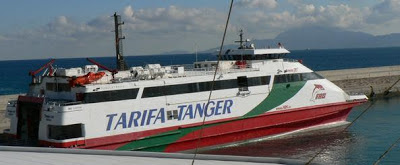 ferry de Tarifa a Tánger Marruecos