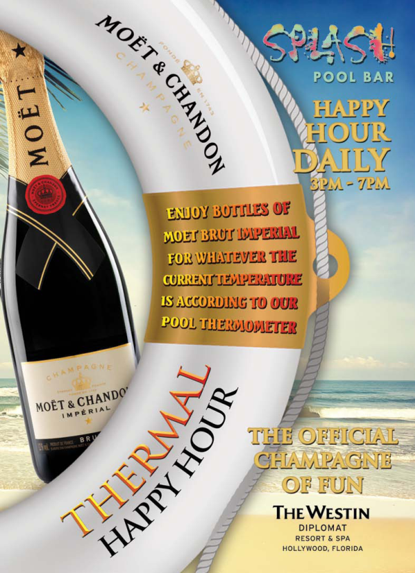 Westin Diplomat Resort & Spa Launches Thermal Happy Hour‏