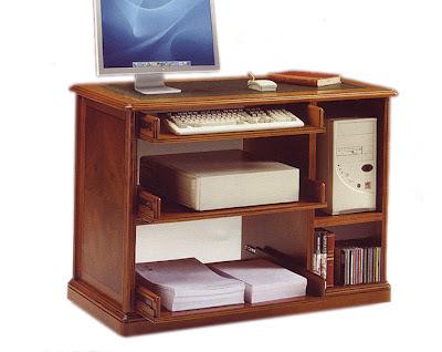 3 mesas de ordenador cl sico - Muebles para ordenador ...