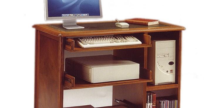 3 mesas de ordenador cl sico for Mueble muteki 5 2