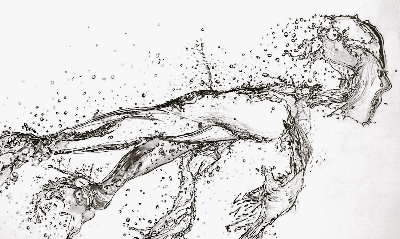 06-Running-Water-Paul-Shanghai-Hyper-Realistic-Water-Pencil-Drawings-www-designstack-co