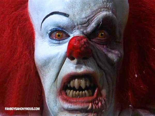 Tim Curry Pennywise It Stephen KIng Killer Clown Horror Halloween