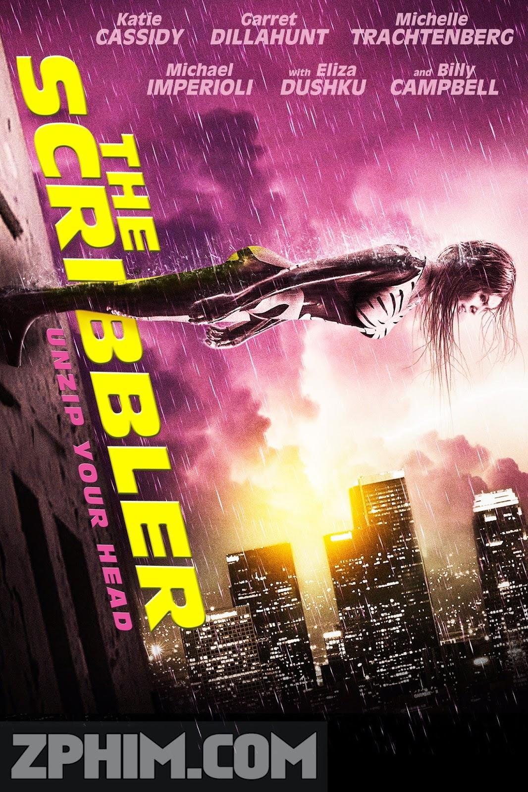 Tiêu Diệt Bản Ngã - The Scribbler (2014) Poster