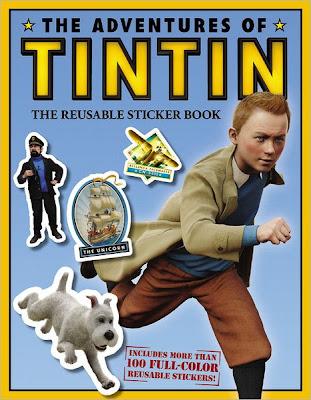 As Aventuras de Tintim - Página 5 Tintin-Sticker+Book