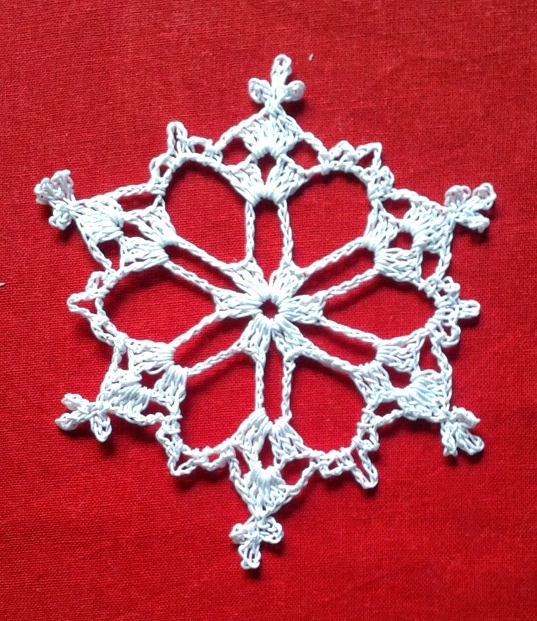 Snowflake A free pattern ~ Free Crochet Patterns