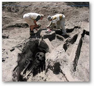 Foto-foto Fosil Manusia Raksasa