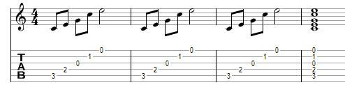 arpegio-guitarra