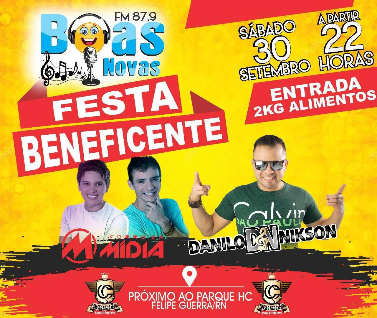 FESTA BENEFICENTE BOAS NOVAS FM