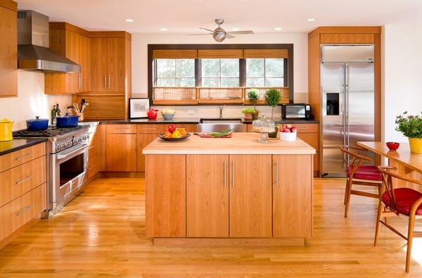 Desain Dapur Modern Dengan Cahaya