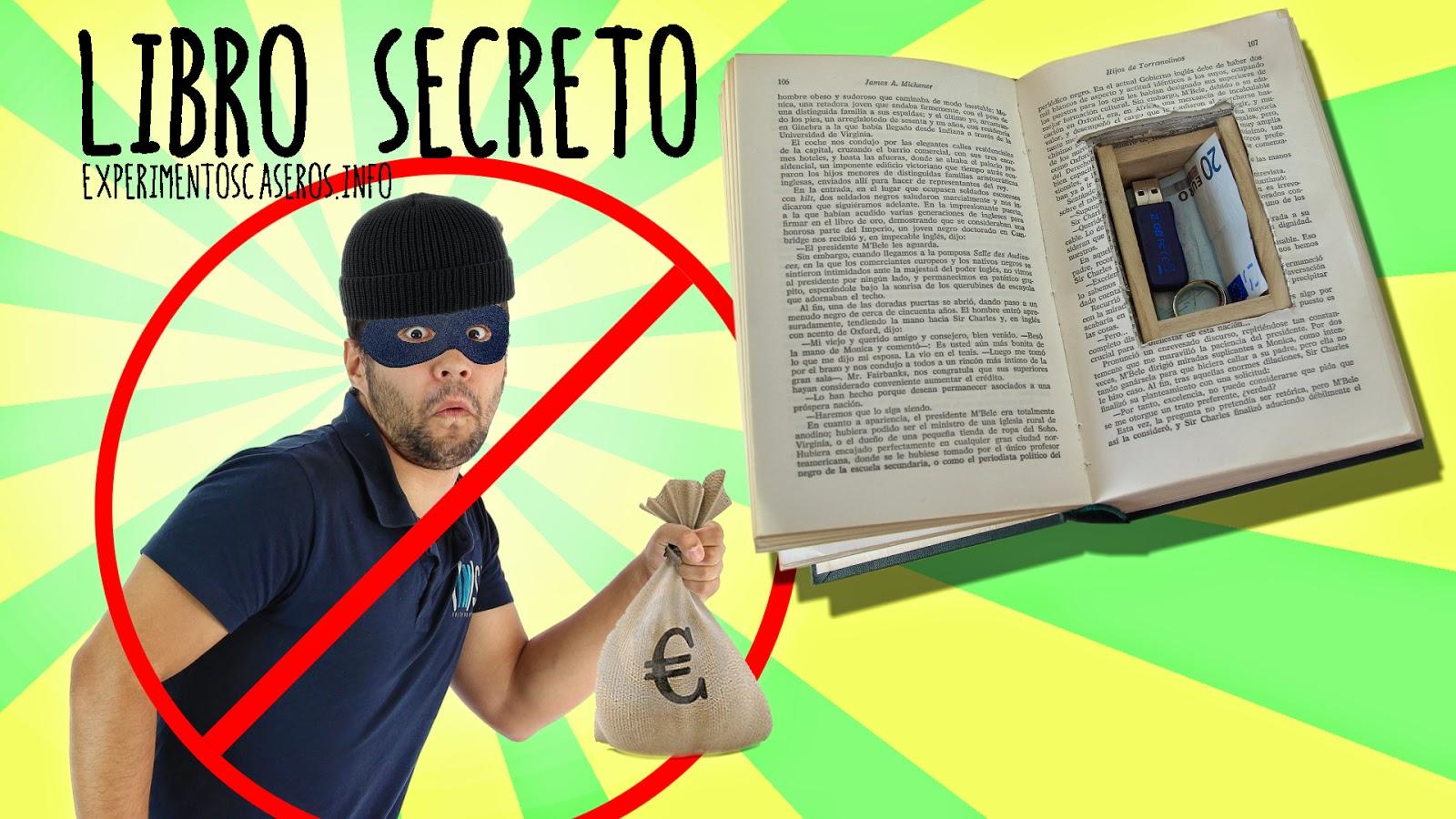 Que no te roben tus objetos personales escondite secreto en un libro escondite secreto c mo - Guardar dinero en casa de forma segura ...