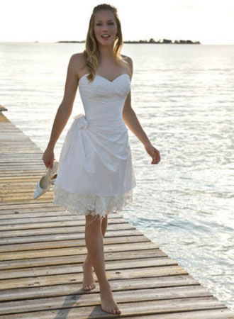 Buy wedding dresses online cheap wedding dresses for Casual flower girl dresses for beach wedding