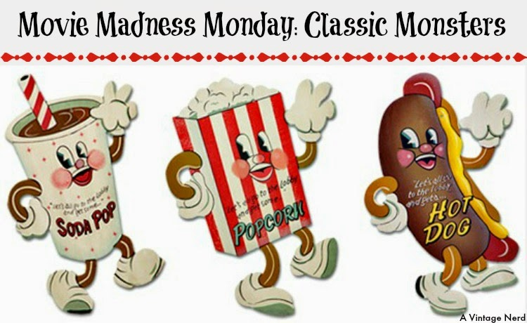 A Vintage Nerd, Classic Film Blog, Old Hollywood Blog, Classic Monster Movies
