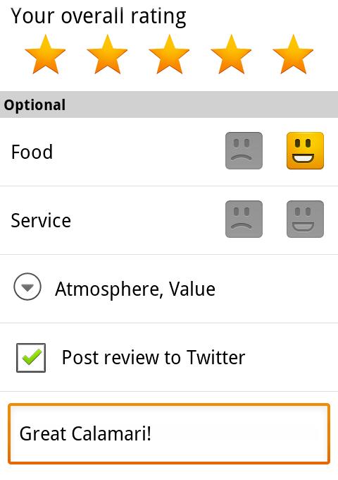Connectez votre compte Twitter et paragez en temps réel vos recommandations Google Hotpot.