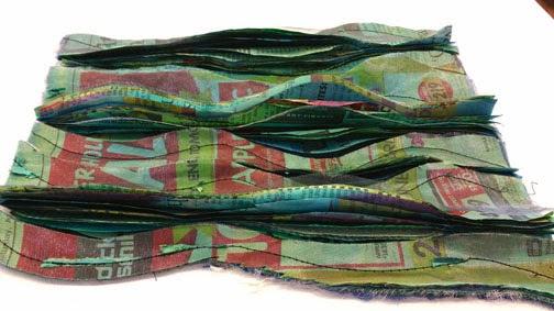 New  Handmade fleece scarf Listing # S133 Fishing