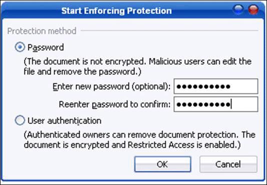 Penggunaan Password