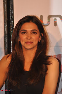 Deepika Padukone  Pictures in Black Short Dress at Yeh Jawani Hai Deewani First Look Launch ~ Celebs Next
