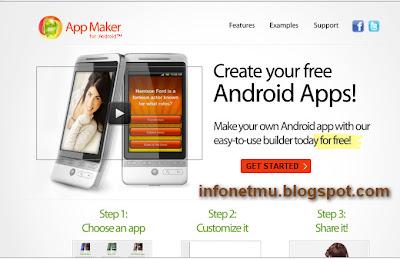 Cara Membuat Aplikasi Android infonetmu
