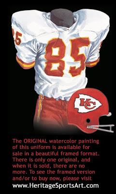 Kansas City Chiefs 1971 uniform