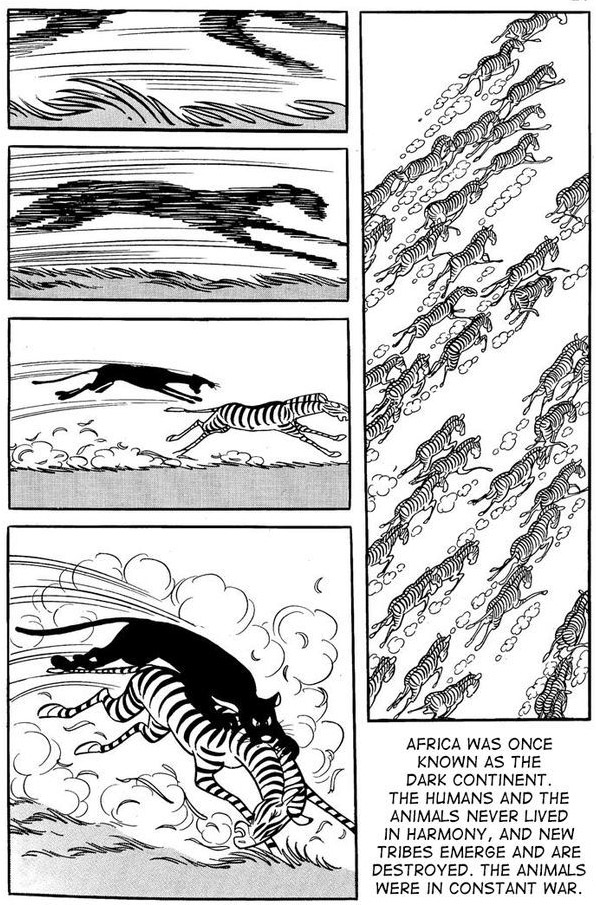 Prevalentemente anime e manga kimba il leone bianco l