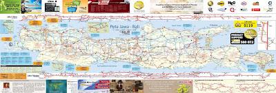 Download Peta Mudik 2013 Rute Jalur Utama Jawa Bali