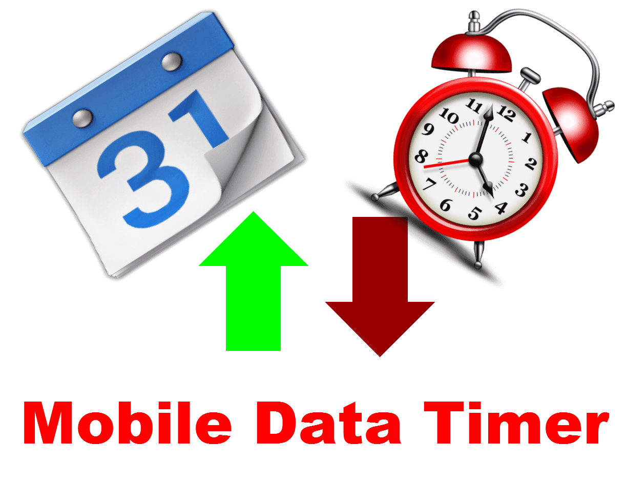 Data Timer for Android