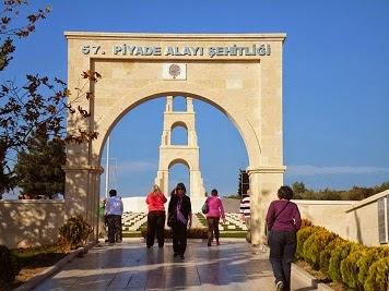 15 Haziran Çanakkale Şehitlik Turu