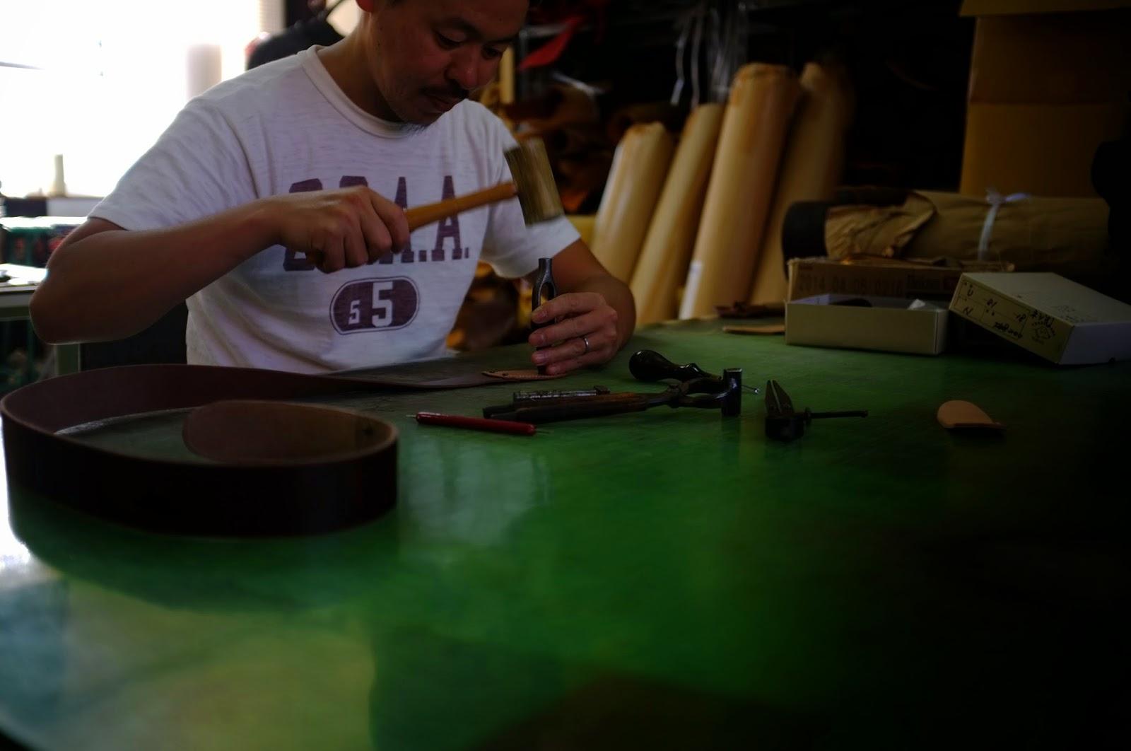本革 ギターストラップ セミオーダー