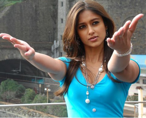 Ileana Hot Stills in Blue Dress - Running Beauty