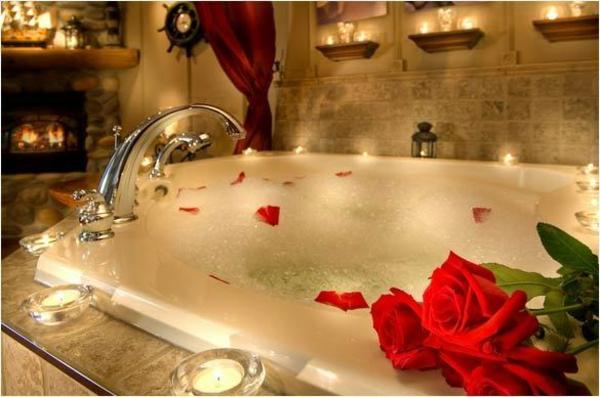 Bagno Romantico Foto : Immagini d amore bagno molto romantico