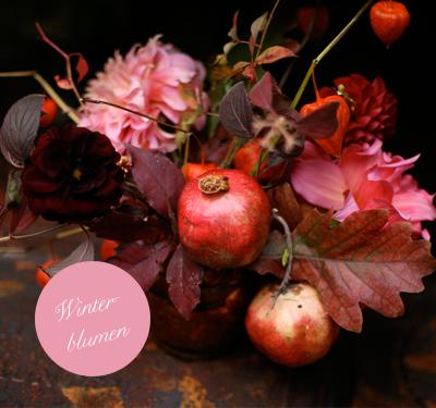 life is delicious/weddings: Blumenzauber für eine Hochzeit im Winter