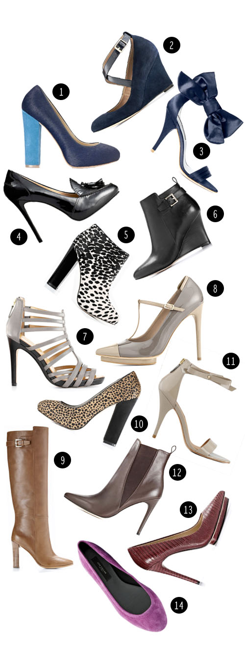 StyleAndPepperBlog.com : : Peppery Picks // Surprising Shoe Source