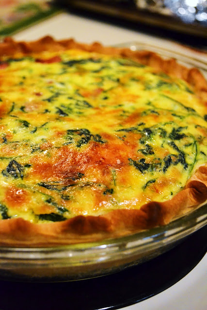 Simple Savory & Satisfying: The Tale of Two Quiches